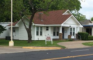 Henderson County Food Pantry building